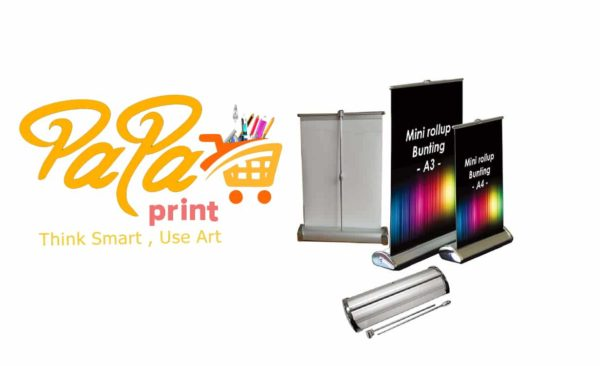 Mini-roller banners