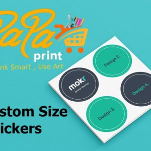 Custom Size Stickers