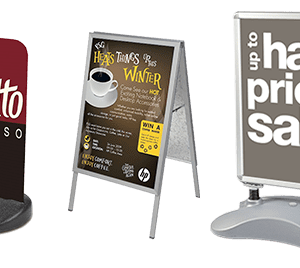 Pavement Signs & A-Boards